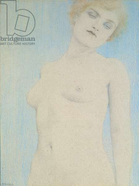 Female Nude (pastel on paper)