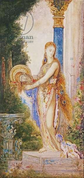 Salome (w/c on paper)