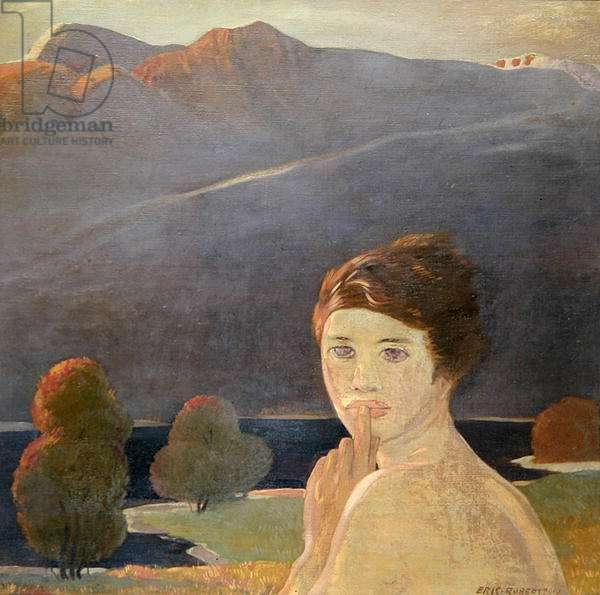 Mountain Silence, 1919 (oil on canvas)