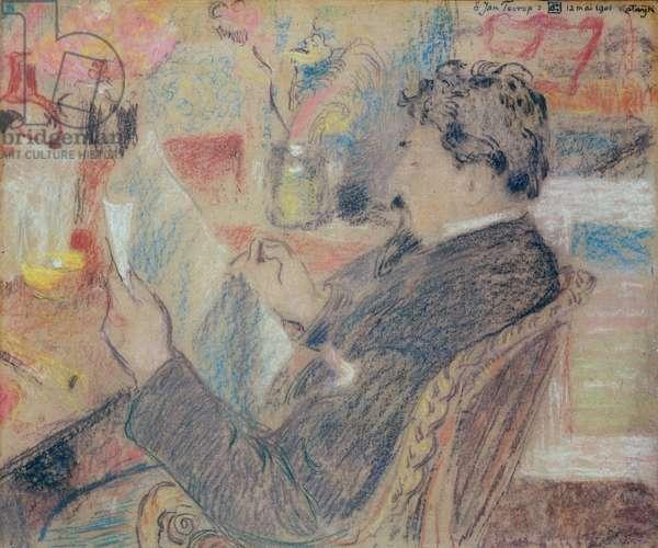 Portrait of a Man, 1901 (pastel on paper)
