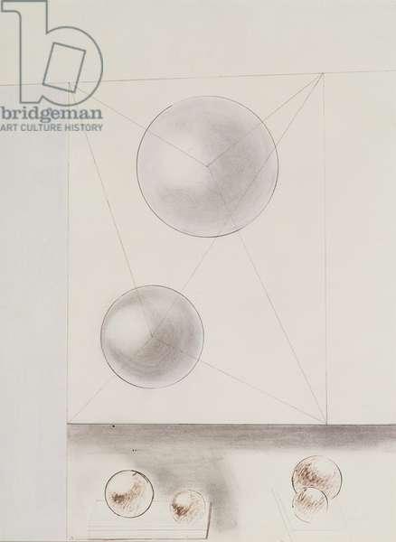 Design for a Sculpture, 1936 (pencil on paper)