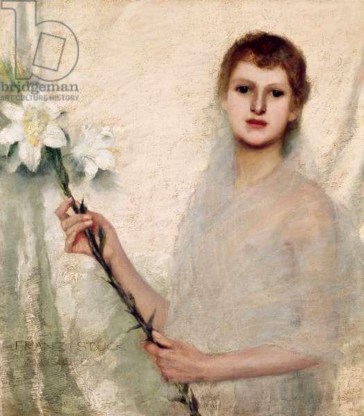 Innocentia, 1889 (oil on canvas)
