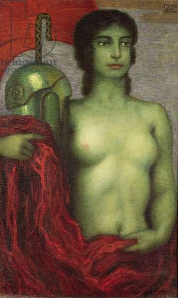 Athena, c.1923 (oil on canvas)