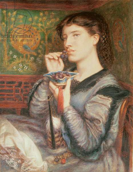 Portrait of Giovinetta (pastel)