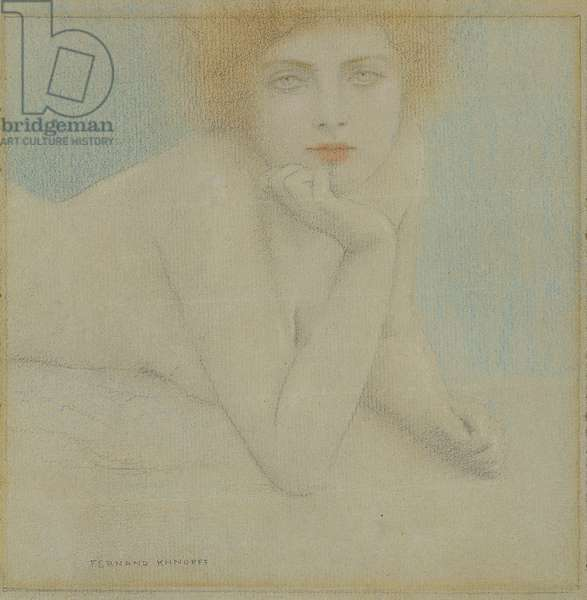 Nude Study, c.1920 (crayon & pastel on paper)