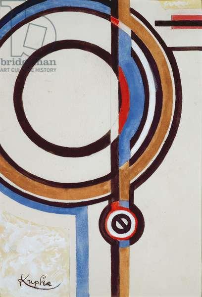 Circles (w/c on paper)