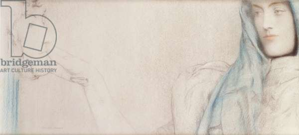 Study for 'The Secret', c.1902 (pastel on paper)