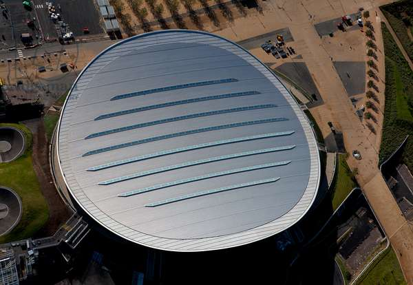 View of the Lee Valley VeloPark, London, UK (photo)