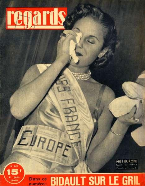 Miss France 1948 (press)