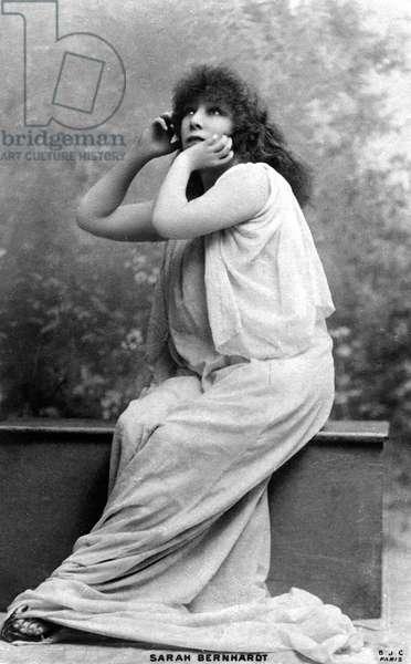 Henriette Rosine Bernard dit Sarah Bernhardt (1844-1923), dramatic artist