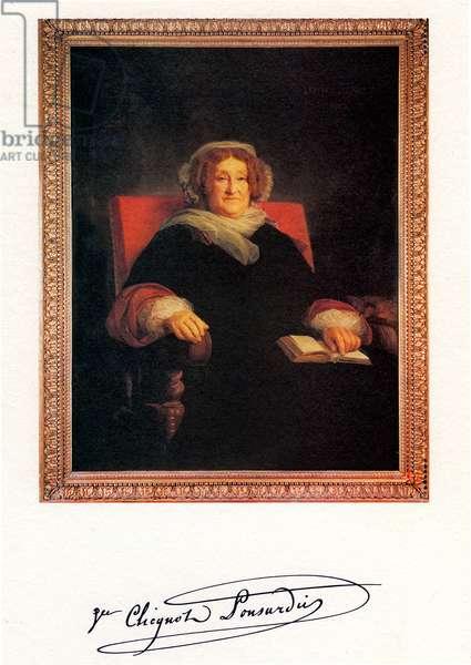 Portrait of Veuve Clicquot