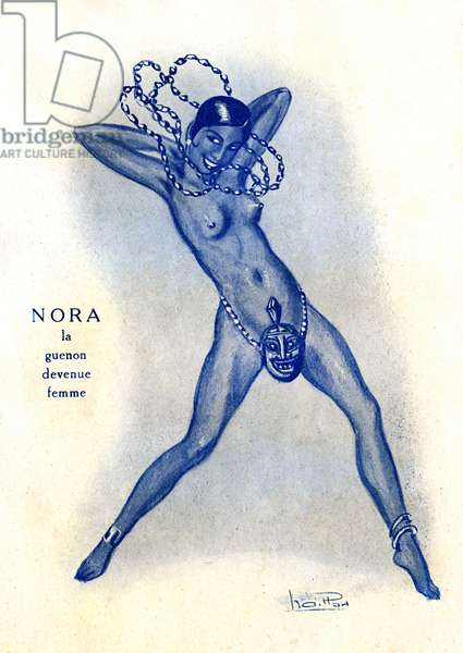 Nora, the guenon became a woman, 1929 (illustration)