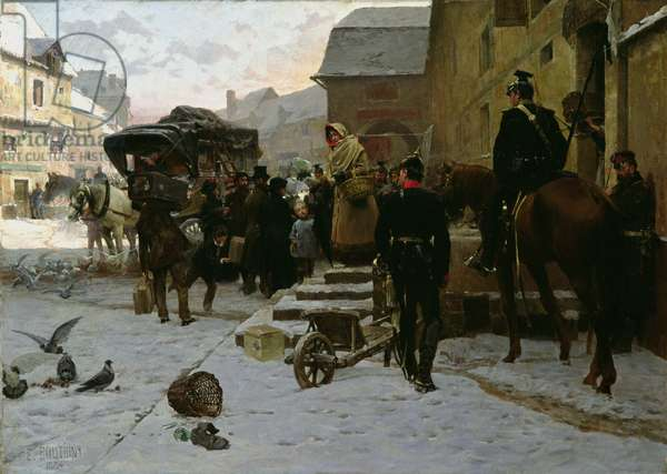 Boule de Suif, 1884 (oil on canvas)