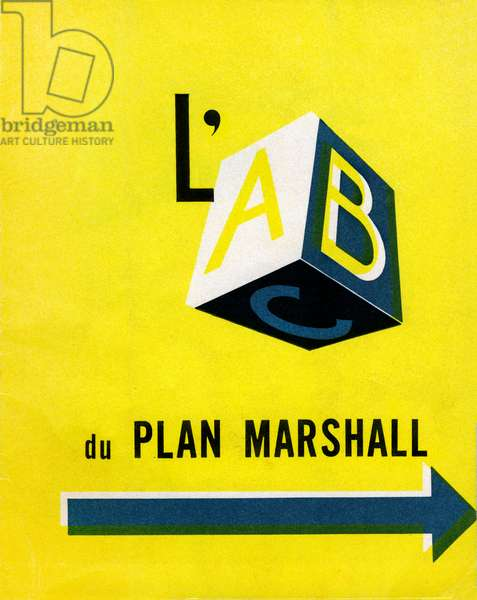 "The Marshall Plan in France and Europe in 1950: the ABC of the Plan - leaflet inserts in an out-of-series issue of the magazine ""France-United States Reports"" - France, United States of America, USA) -"