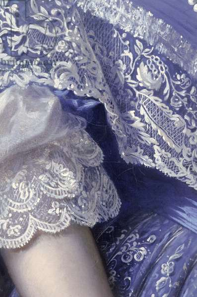 Portrait of a woman (oil on canvas) (detail) (see 164366, 164367, 164369)