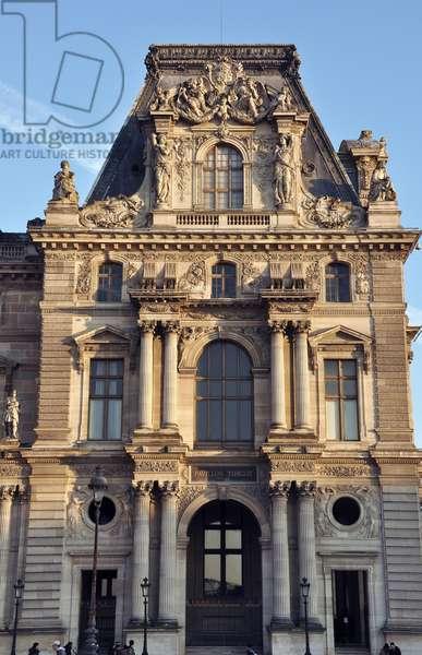 Pavilion Turgot Grand Louvre, Rue de Rivoli and Quai des Tuileries, Paris 75001. Picture Patrice Cartier