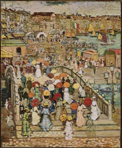 Ponte della Paglia, c.1898-99 (oil on canvas)