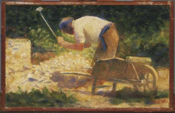 The Stone Breaker, 1882 (oil on wood panel)