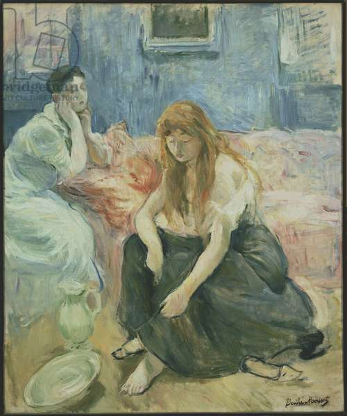 Two Girls, c.1894 (oil on canvas)