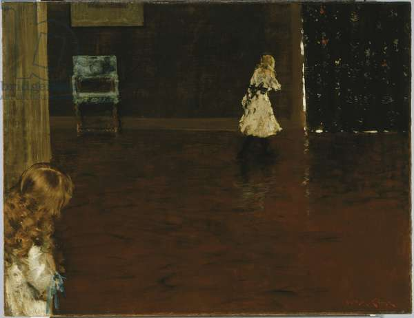 Hide and Seek, 1888 (oil on canvas)
