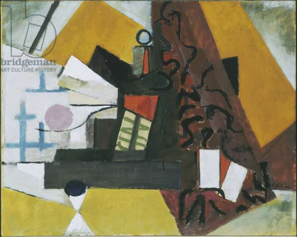 Cin-Zin, 1945 (oil on canvas)