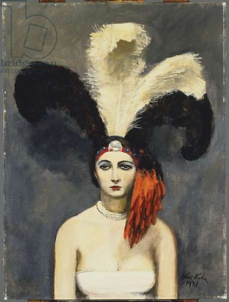 Plumes, 1921 (oil on canvas)