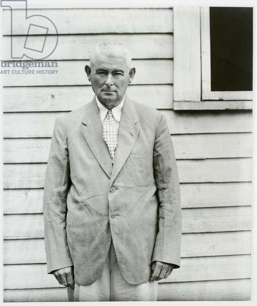 Landowner, Moundville, AL, 1936 (gelatin silver print)