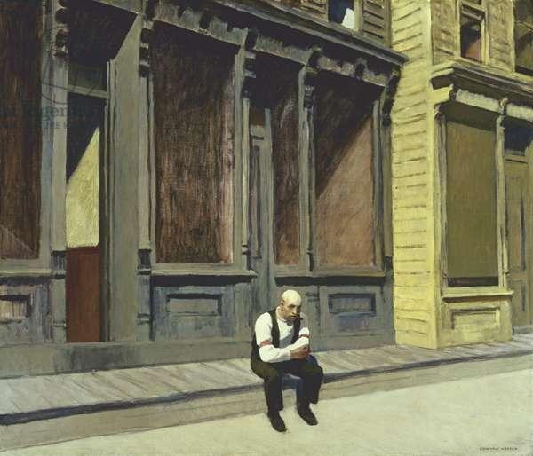 Sunday, 1926 (oil on canvas)
