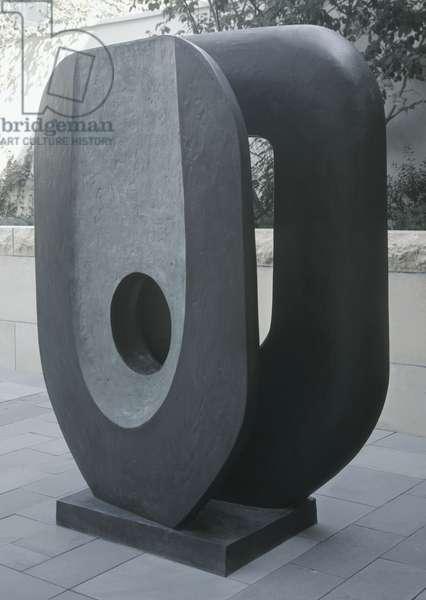 Dual Form, 1965 (bronze)