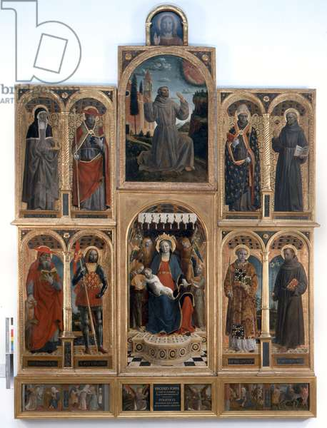 The Grazie Polyptych, 1500-05 (oil and tempera on wood)