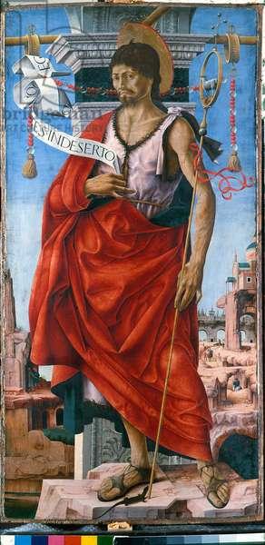 St. John the Baptist, 1472-73 (tempera on panel)