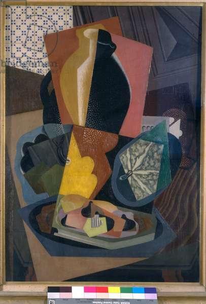 Still Life with Pumpkin, 1917 (oil on panel)