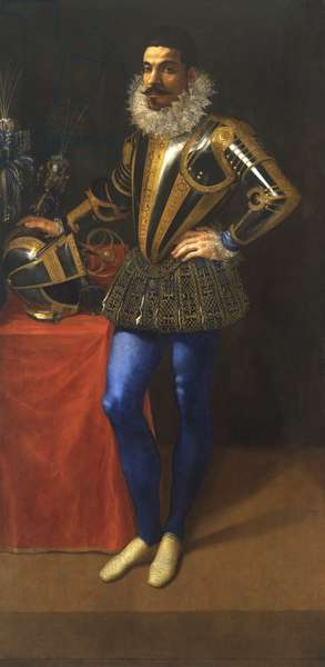 Portrait of Lucio Foppa, c.1590 (oil on panel)