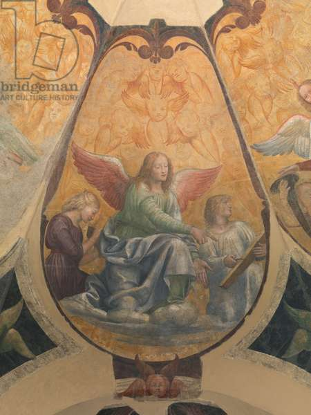 Three angels, 1520-21 (detached fresco mounted on canvas)