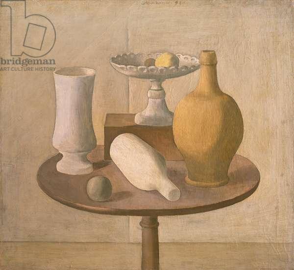 Still life, 1920 (oil on canvas)