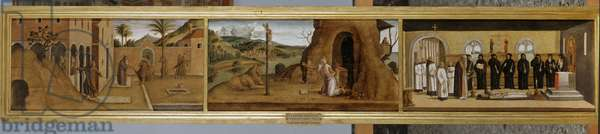 Stories of St. Jerome, c.1485 (tempera on board)