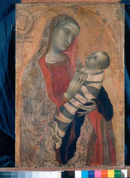 Madonna and Child, 1320-23 (tempera on board)