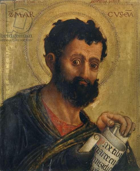St. Mark, 1454 (oil on panel)