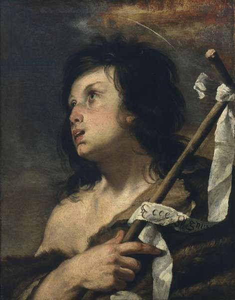 The young St. John the Baptist, 1620-25 (oil on canvas)