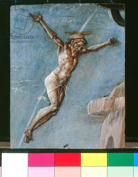 Christ crucified, 1479 (tempera on panel)