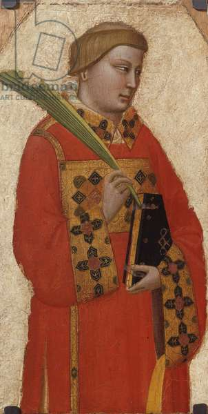 Saint Lawrence, c.1340 (tempera on board)