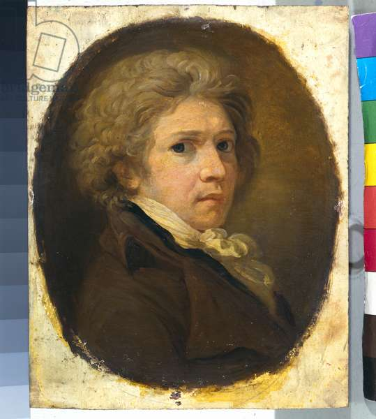 Self-Portrait, 1795-99 (oil on panel)