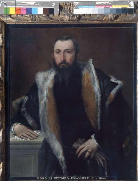 Portrait of Febo da Brescia, 1543-44 (oil on canvas)