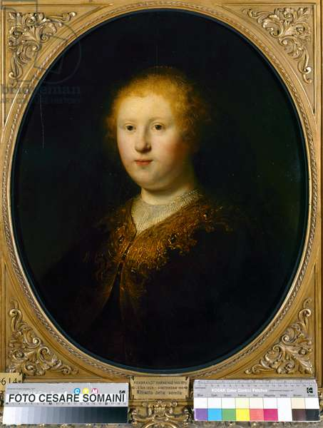 Portrait of a young woman, 1632 (oil on panel)