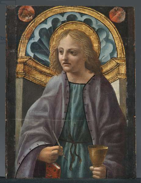 St. John the Evangelist, 1490-c.1591 (oil and tempera on board)