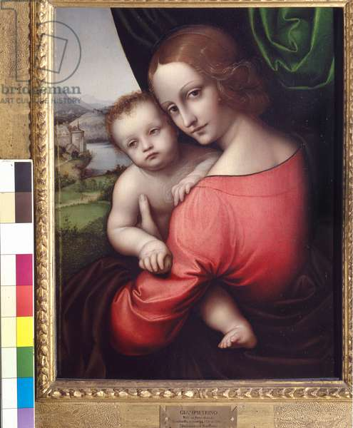 Madonna and Child (Our Lady of the Apple), c.1525 (oil on panel)