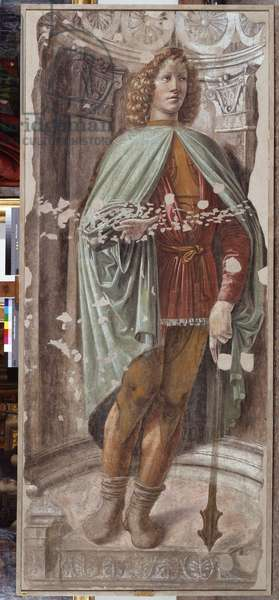 Man with a Mace, c.1486 (detached fresco mounted on canvas)