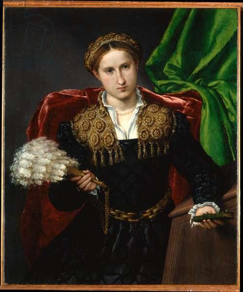Portrait of Laura da Pola, 1543-1544 (oil on canvas)
