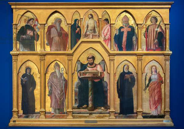 Polyptych of St. Luke, 1453-55 (tempera on board)