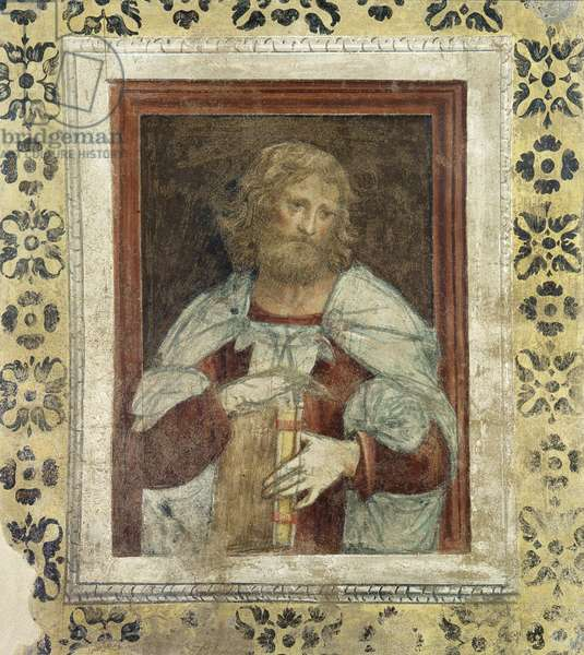 Prophet, 1520-21 (detached fresco mounted on canvas)